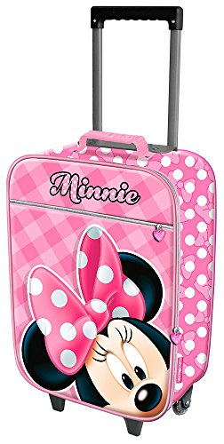 K Racter Mania Minnie Mouse Joyful Equipaje Infantil, 50 cm, 25 Litros, Rosa