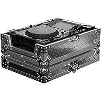 Odyssey fz-cdj-dia Argento Diamante Piastra ATA Volo Zone Custodia per Tavolo di grande formato CD/Digital Media Player