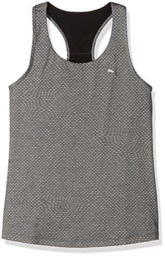 PUMA Damen Tanktop Essential Graphic RB Tank Top, medium Gray Heather/Metallic Print, L -