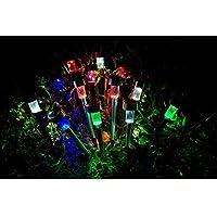 MEIWEI Plastica luce controllo Pin LED lampada solare del prato inglese Lights(4pcs)