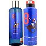 Beverly Hills Polo Club Gift Set 8 for Men (Deodorant and Body Wash)