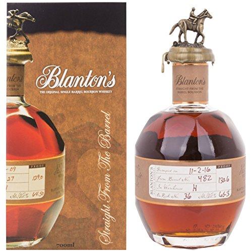 Blanton's Straight the Barrel GB 65,20% 70 cl.