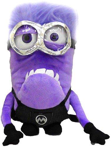 Ich - Einfach Purple Minion Plüsch Rucksack