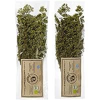 Oregano Bio Premium getrocknet aus Griechenland 65 gr Strauch 2er Pack 2 x 65 g (130 GR)