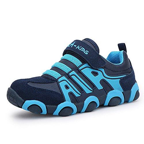 Jungen Schuhe,Low-Top Kinderschuhe Outdoor Sportschuhe Turnschuhe Laufschuhe Trekking & Wanderhalbschuhe Sneaker (32)