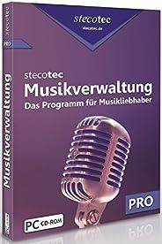 Stecotec Musikverwaltung Pro: CD- und Schallplatten-Sammlung am PC verwalten, Musikverwaltungsprogramm, Musikv