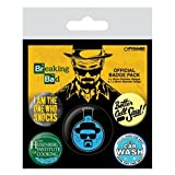 Breaking Bad Heisenberg 5-Button Badge Pack