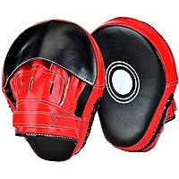 Loveiscool Pratzen Trainerpratzen Kickboxen Boxen Pratzen für Muay Thai Kickboxen Bewegung Karate Taekwondo Martial Arts - 1 Paar