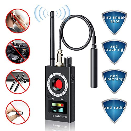 Detector de Insectos inalámbrico Anti espía RF señal para cámara Oculta Lente...
