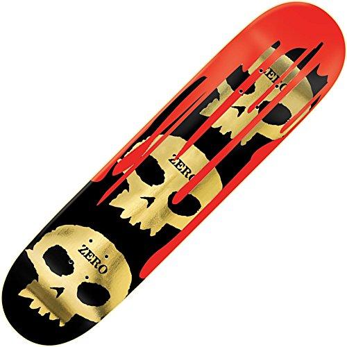 Zero Burman 3Skull Blood 21cm Skateboard Deck