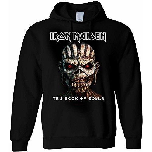 Iron Maiden The Book Of Souls Felpa con cappuccio nero XL