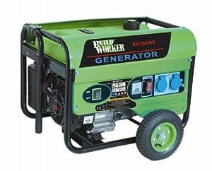 Build Worker BG2800R Générateur 2800 w Vert