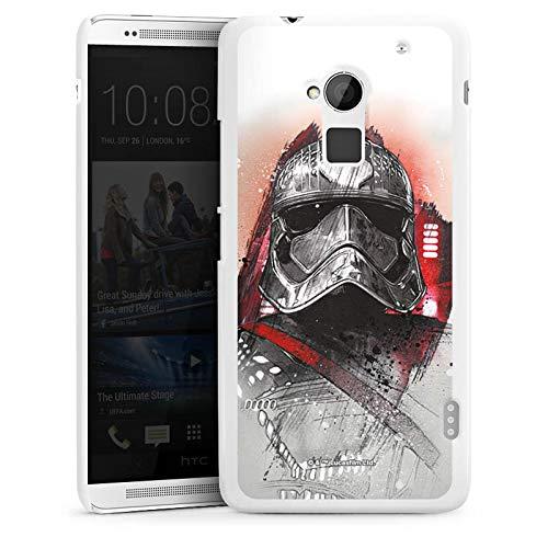 DeinDesign Hülle kompatibel mit HTC One max Handyhülle Case Star Wars 8 Offizielles Lizenzprodukt Captain Phasma