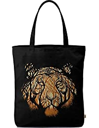Dailyobjects Tote Bag Wild Trees Carry All Bag With Photo Quality Design, Made Of Polyester Canvas With Soft Poly-cotton...