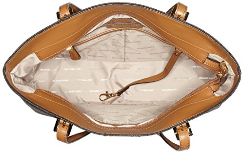 Michael Kors - Bedford, Borsa Tote donna Marrone (Brown)