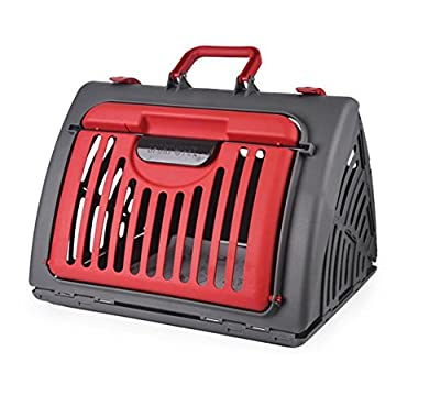 hawkfish Premium Design Cat Cabrio Carrier Flight/ Airline -Approved-Foldable-FOR CAT AND Small dog -TRAVEL MASTER CARRIER 45 x 35x 33cm
