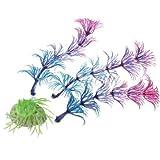 Generic LQ.1.LQ.5662.LQ nk Orna Ornament für Wasser/Plasti/Aquarium, Aquarium, AQU, künstlicher Kunststoff, Gras oder Lila Dekor, Lila NV_1001005662-CNUK22_2234