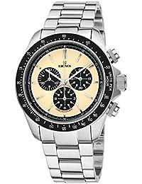 73bee4316ad4 KRONOS - Vintage Sport Chronograph Desert 985.8.35 - Reloj de Caballero de  Cuarzo