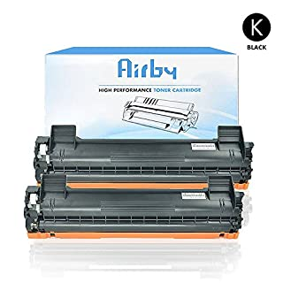 2x Airby® Compatible Brother TN1050 TN-1050 Toner Cartridge for Brother HL-1110, HL-1112, HL-1210W, HL-1212W, DCP-1510, DCP-1512, DCP-1610W, DCP-1612W, MFC-1810, MFC-1910W