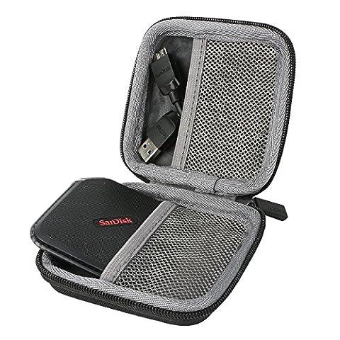 für SanDisk Extreme 500 Portable SSD External Solid State Drive Festplatte 120GB 240GB 480GB Shockproof Hart Storage Reise Lagerung Tragen Taschen Hülle von