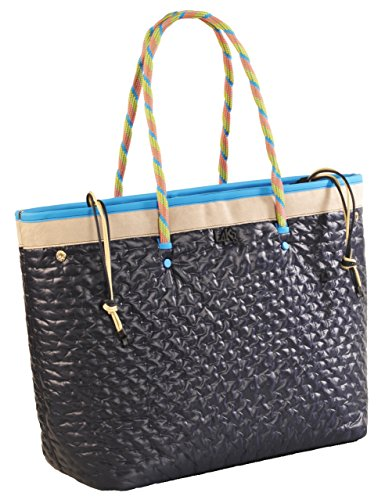 Borsa Shopping L4K3 MISS LAKE Piumino Blu