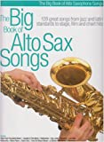 The Big Book of Alto Sax Songs
