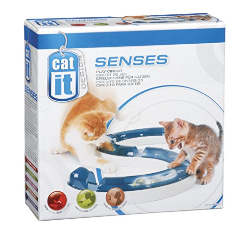 *Catit Design Senses Play Circuit Spielschiene inklusive Ball*