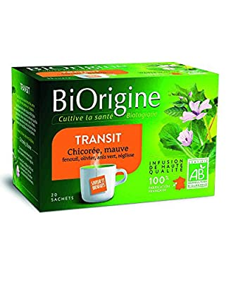 BiOrigine Infusion Transit 38 g - Lot de 3