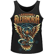 Playlogic International - Camiseta de Asking Alexandria para hombre