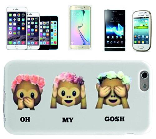 """Cases Smartphone Samsung Galaxy S7 """"Three Monkeys donne Oh My Gosh con rose"""", probabilmente la più bella di protezione per smartphone di tutti i tempi."""