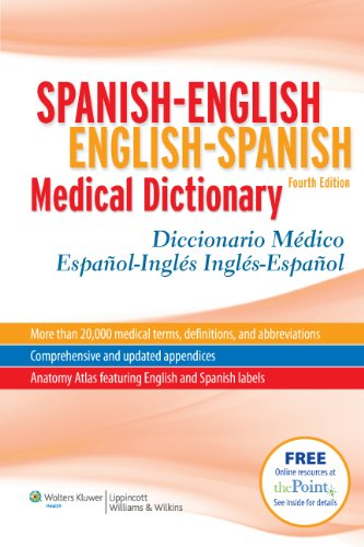 Spanish-English. English-Spanish. Medical Dictionary por O. H. McElroy