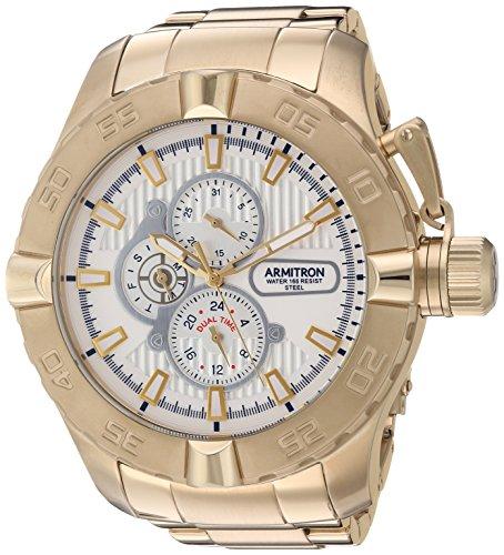 armitron-mens-quartz-stainless-steel-dress-watch-colorgold-toned-model-20-5199wtgp