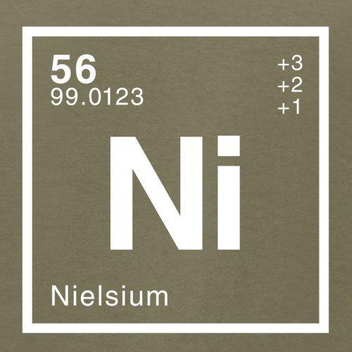 Niels Periodensystem - Herren T-Shirt - 13 Farben Khaki