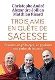 Trois amis en quête de sagesse: Un moine, un philisophe, un psychiatre nous parlent de l'essentiel. (IC.HORS...
