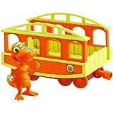 Le Dino Train LC53001MP - Figura de Samy con vagón