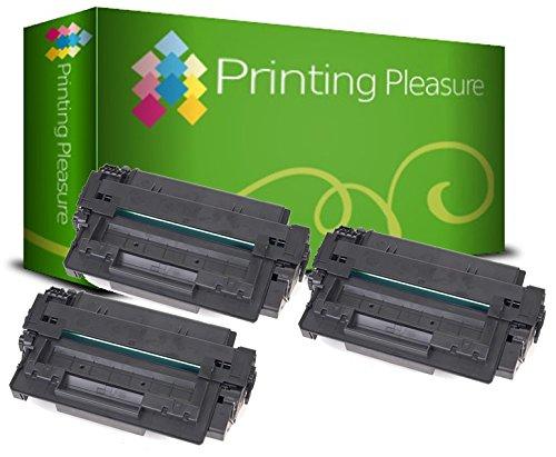 PRINTING PLEASURE 3 Toner kompatibel für HP Laserjet 1160 / 1320 / 3390 / 3392 Serie / Q5949A / 49A Schwarz / Black