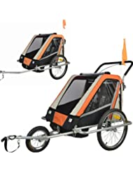 Vollgefederter Kinderfahrradanhänger Exclusiv Modell 2017 NEU Fahrradanhänger Kinderanhänger 503-03