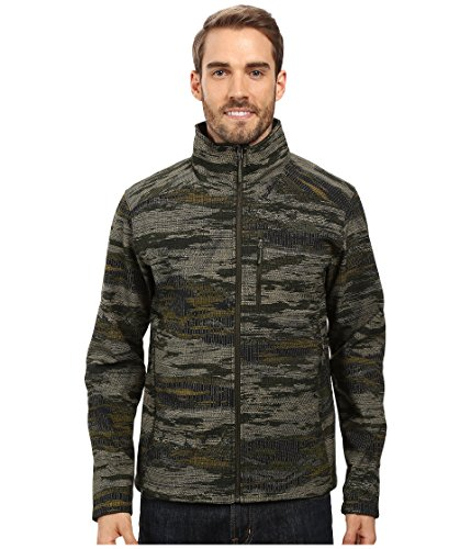 The North Face Men's Apex Bionic 2 Jacket Rosin Green Glamo Print (Prior Season) Medium -