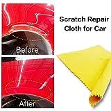 Hete-supply Magisches Tuch zum Reparieren von Kratzern auf Autos, Kratzer-, Rost- und Teerflecken-Entferner, entfernt leichte Lackkratzer und Abnutzungen auf der Oberfläche