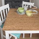 Möbelfolie - Bambus, selbstklebend, Dekorfolie, Möbelaufkleber, DIY Designfolie, Sticker, Meterware, Größe HxB: 50cm x 100cm