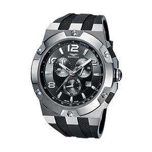 Sandoz 81289-01 – Reloj de Caballero de Cuarzo, Correa de Goma Color