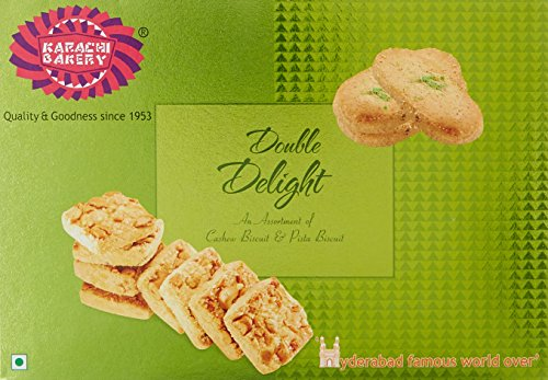 Karachi Bakery Double Delight with Cashew and Green Pista, 400g