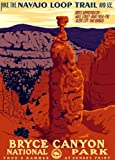 American Vinyl Bryce Canyon Kunst Poster Autoaufkleber