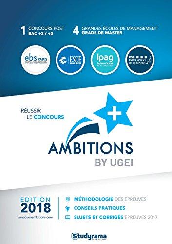 Réussir le concours Ambitions+ by UGEI par Collectif