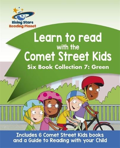 Reading Planet: Learn to read with the Comet Street Kids Six Book Collection 7: Green