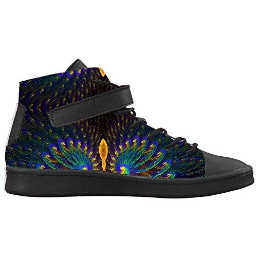 Dalliy sch?ne pfau Men's Canvas shoes Schuhe Footwear Sneakers shoes Schuhe D