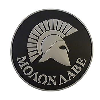 ACU Gray Spartan Molon Labe...
