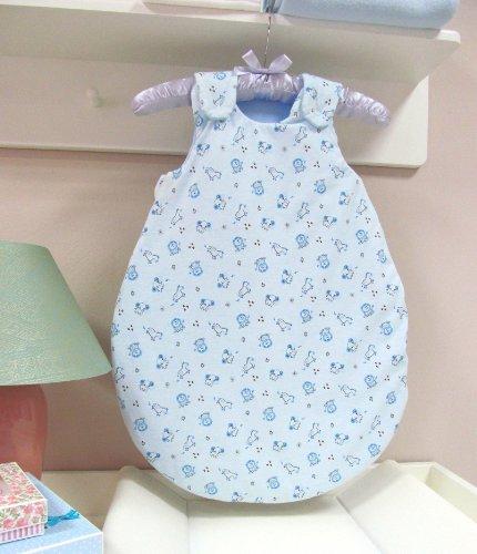 joie de bébé Gigoteuse gigoteuse bébé ANNA - 04 Vert, 62/68 cm 02 Bleu