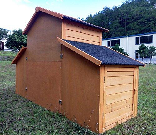 """Kaninchenstall Kleintierhaus Hasenstall Kleintierkäfig Nr. 01 """"Möhrchen"""" mit Seitenflügeln - 5"""