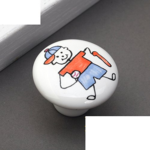 Kinder Keramik Griff/Cartoon-handle/Kleid Schuh Schranktür,Kupfer Armaturen/Rustikal Land Griffe-A (Armaturen Für Kleid, Schuhe)